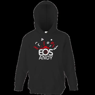 Motiv: Kids Hooded Sweat - eosAndy Doodle Shirt Logo