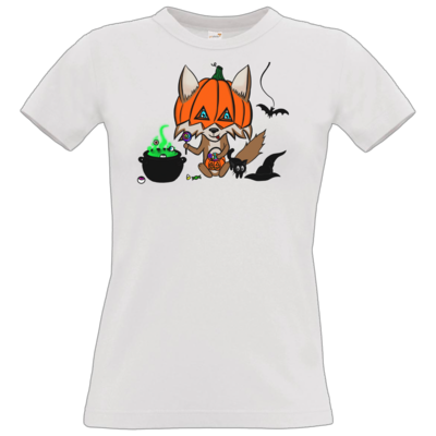 Motiv: T-Shirt Damen Premium FAIR WEAR - halloweenwosel