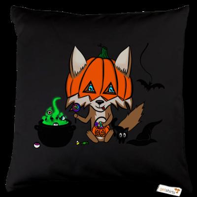Motiv: Kissen Baumwolle - halloweenwosel