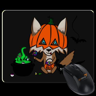 Motiv: Mousepad Textil - halloweenwosel