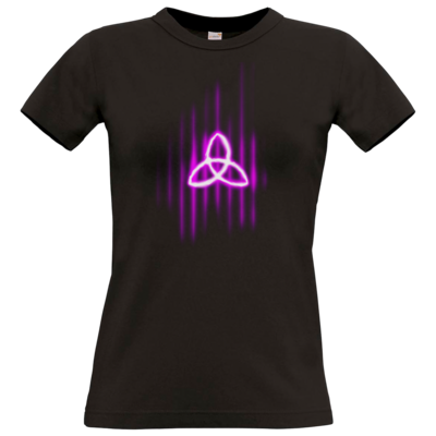 Motiv: T-Shirt Damen Premium FAIR WEAR - Triquetra