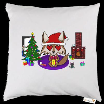 Motiv: Kissen - weihnachtsmann
