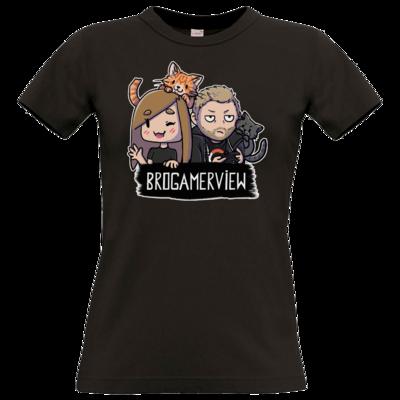 Motiv: T-Shirt Damen Premium FAIR WEAR - BroGamerView Avatare
