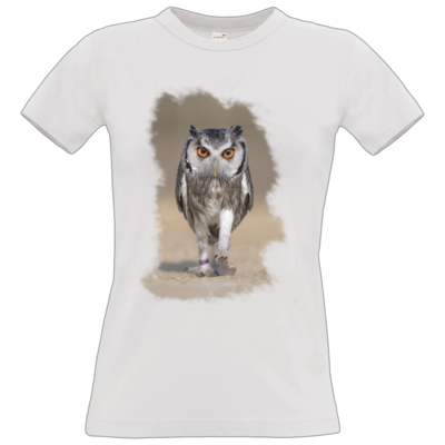 Motiv: T-Shirt Damen Premium FAIR WEAR - und weg ...