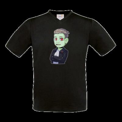 Motiv: T-Shirt V-Neck FAIR WEAR - Shizzy_Horror
