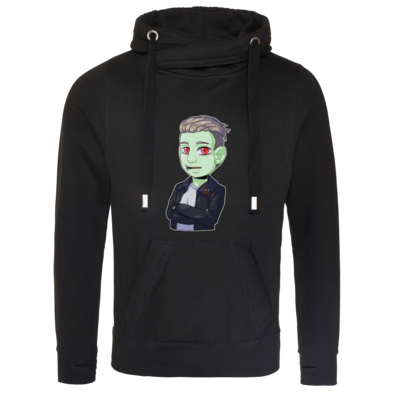 Motiv: Cross Neck Hoodie - Shizzy_Horror