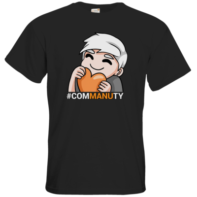 Motiv: T-Shirt Premium FAIR WEAR - Commanuty Herz