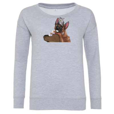 Motiv: Girlie Crew Sweatshirt - friends