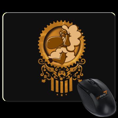 Motiv: Mousepad Textil - diePhantas Logo