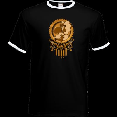 Motiv: T-Shirt Ringer - diePhantas Logo