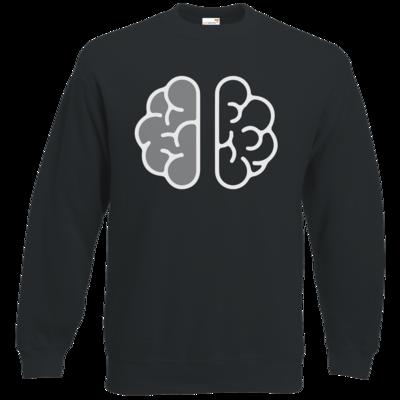 Motiv: Sweatshirt Classic - Hirn