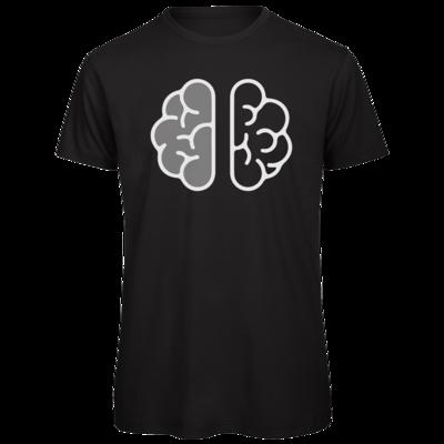 Motiv: Organic T-Shirt - Hirn