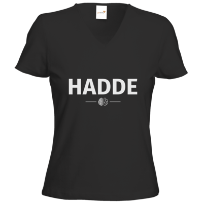 Motiv: T-Shirts Damen V-Neck FAIR WEAR - Hadde