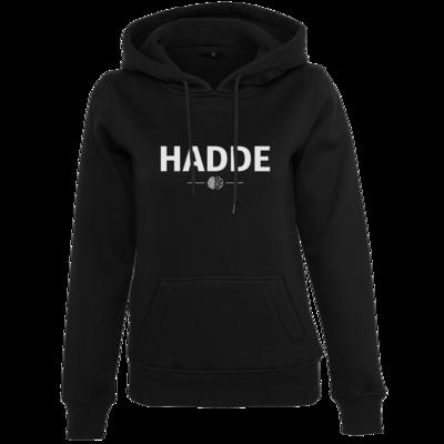 Motiv: Womens Heavy Hoody - Hadde