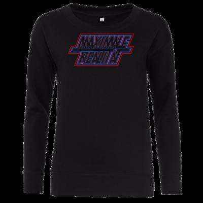 Motiv: Girlie Crew Sweatshirt - Black Series - Maximale Realität