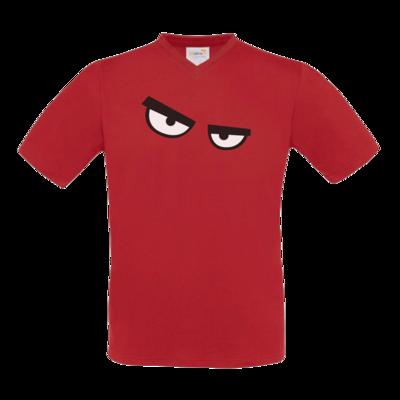 Motiv: T-Shirt V-Neck FAIR WEAR - RBTV 2018 - Eyes