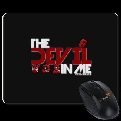Motiv: Mousepad Textil - DevilInMe