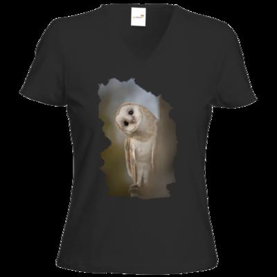 Motiv: T-Shirt Damen V-Neck Classic - Lusi-Lu