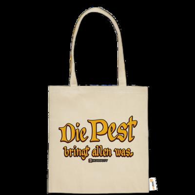 Motiv: Baumwolltasche - Die Pest