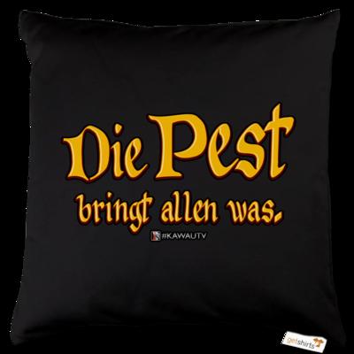 Motiv: Kissen Baumwolle - Die Pest
