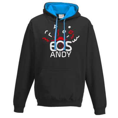 Motiv: Two-Tone Hoodie - eosAndy Doodle Shirt Logo