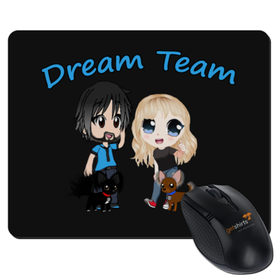 Motiv: Mousepad Textil - Dream Team