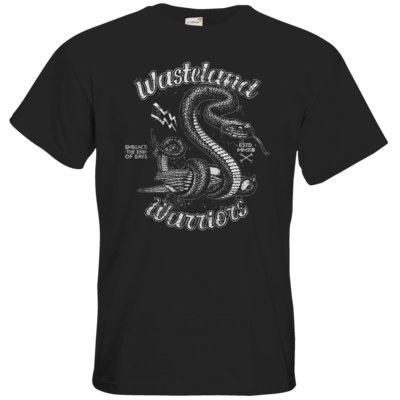 Motiv: T-Shirt Premium FAIR WEAR - Wasteland Garage