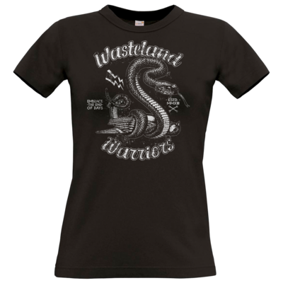 Motiv: T-Shirt Damen Premium FAIR WEAR - Wasteland Garage