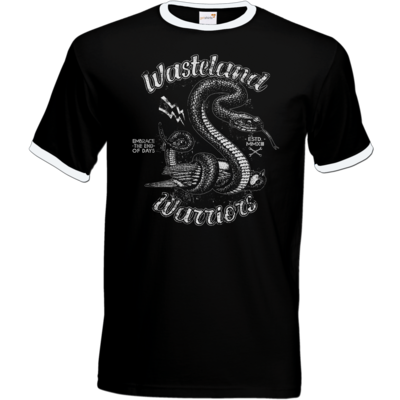 Motiv: T-Shirt Ringer - Wasteland Garage