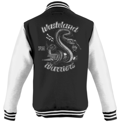 Motiv: College Jacke - Wasteland Garage