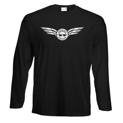 Motiv: Exact 190 Longsleeve FAIR WEAR - Logo Wings