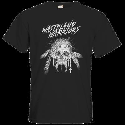 Motiv: T-Shirt Premium FAIR WEAR - Primal Skull