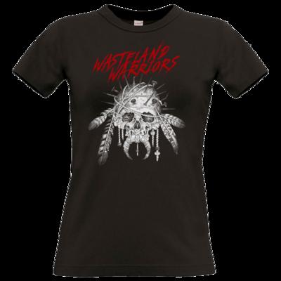 Motiv: T-Shirt Damen Premium FAIR WEAR - Primal Skull v2