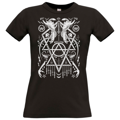 Motiv: T-Shirt Damen Premium FAIR WEAR - Sigillum Heremus