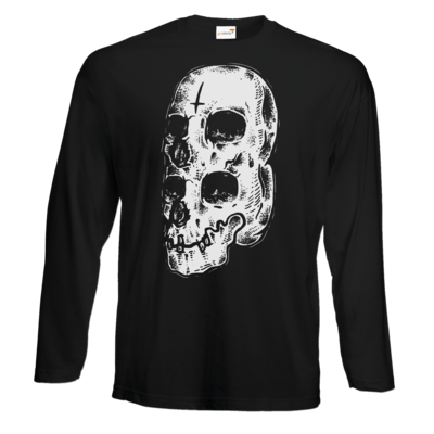 Motiv: Exact 190 Longsleeve FAIR WEAR - Twin Skull