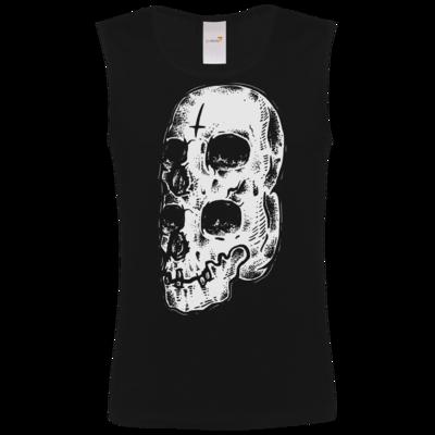 Motiv: Athletic Vest FAIR WEAR - Twin Skull