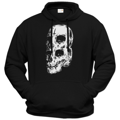 Motiv: Hoodie Premium FAIR WEAR - Twin Skull