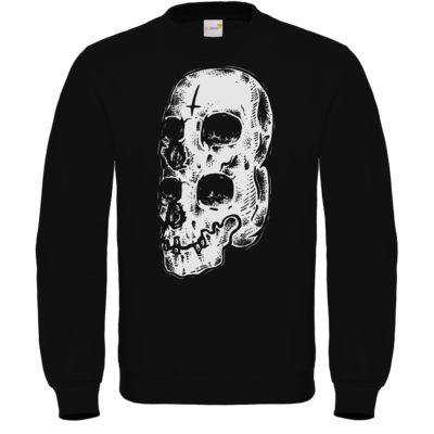 Motiv: Sweatshirt FAIR WEAR - Twin Skull