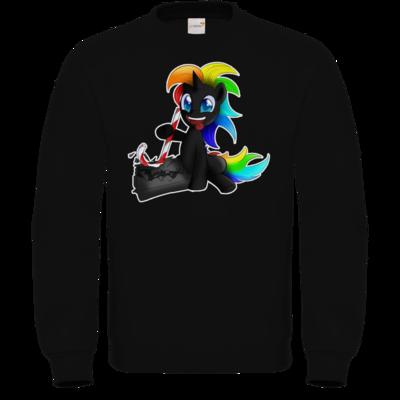 Motiv: Sweatshirt FAIR WEAR - Das Zerstörungs Einhorn
