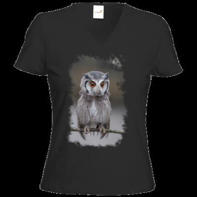 Motiv: T-Shirt Damen V-Neck Classic - Waaas ?