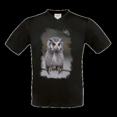 Motiv: T-Shirt V-Neck FAIR WEAR - Waaas ?
