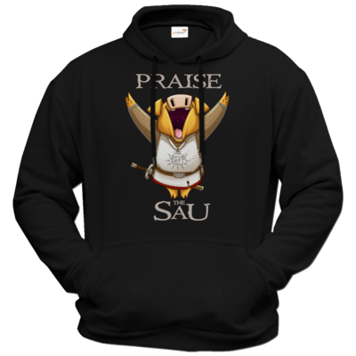 Motiv: Hoodie Premium FAIR WEAR - Praise The Sau