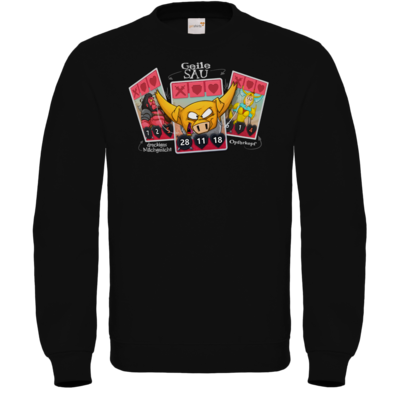 Motiv: Sweatshirt FAIR WEAR - Geile Sau - Artifact
