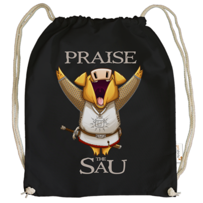 Motiv: Cotton Gymsac - Praise The Sau