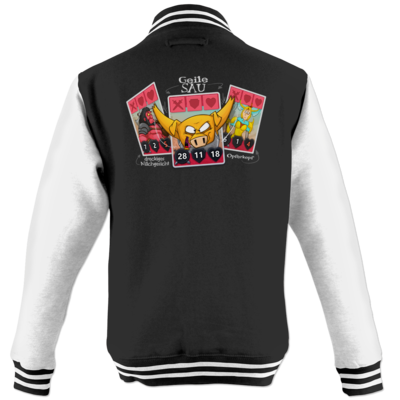 Motiv: College Jacke - Geile Sau - Artifact