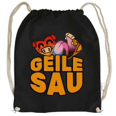 Motiv: Cotton Gymsac - GEILE SAU