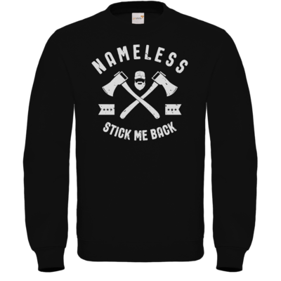 Motiv: Sweatshirt FAIR WEAR - Stick-Me-Back