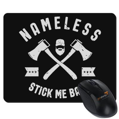 Motiv: Mousepad Textil - Stick-Me-Back