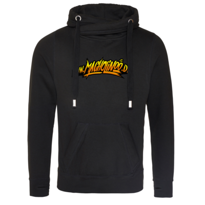 Motiv: Cross Neck Hoodie - Macho - HP