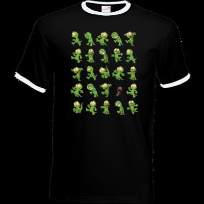 Motiv: T-Shirt Ringer - Gronkh - Walking Lurchs